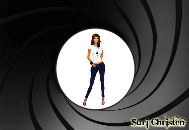 Suri.James Bond Style