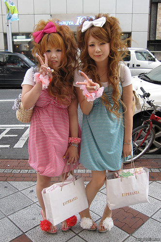 Japanese Girls at Shibuya 109 by tokyofashion.