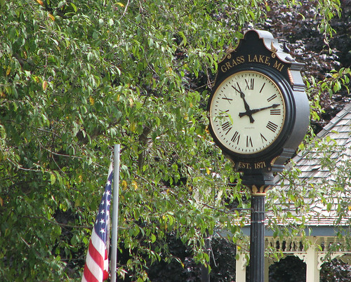 Grass Lake Clock