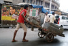 A city where pushcart dirt and Bollywood diamonds merge.