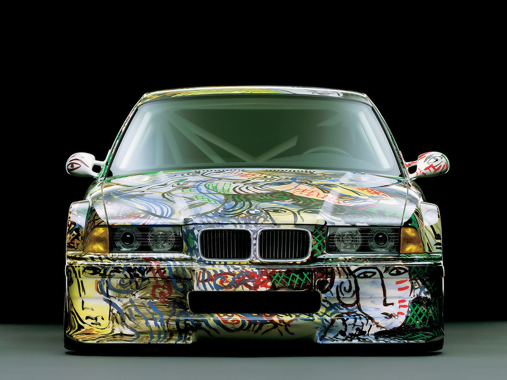 1992 BMW 3series Touring Art Car Modification