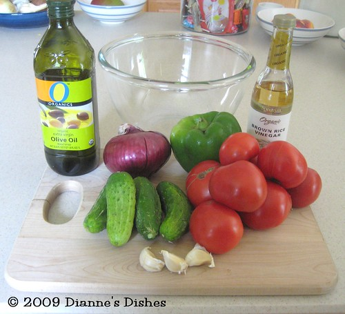 Gazpacho: Ingredients