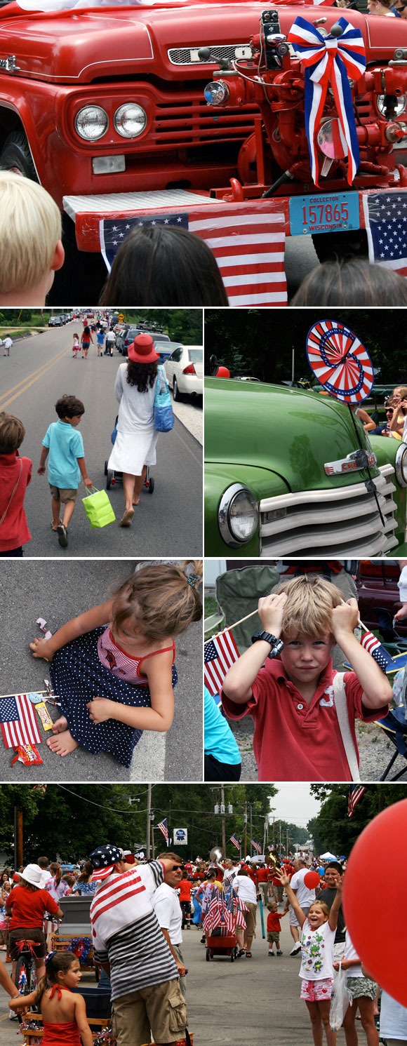 Amy Graham Stigler, Smock mom: July 4 parade