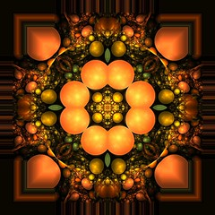 K-PLAY 1 (Lyle58) Tags: orange abstract color green geometric yellow circle design colorful pattern kaleidoscope symmetry zen harmony reflective symmetrical fractal balance apophysis circular allrightsreserved kscope kaleidoscopic kaleidoscopes kaleidoscopefun mywinners kaleidoscopesonly lyle58