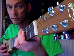 dlk on guitar
