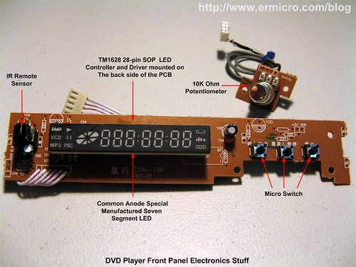 Some Cool Electronics Stuff from Your Discarded DVD Player (01)