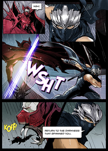 Ninja Gaiden Sigma 2 - Prologue Comic tease