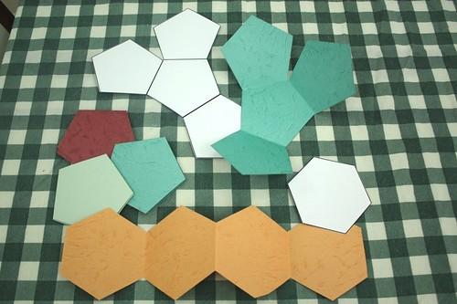 minibooks hexagon books