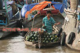 Mekong river market, Vietnam