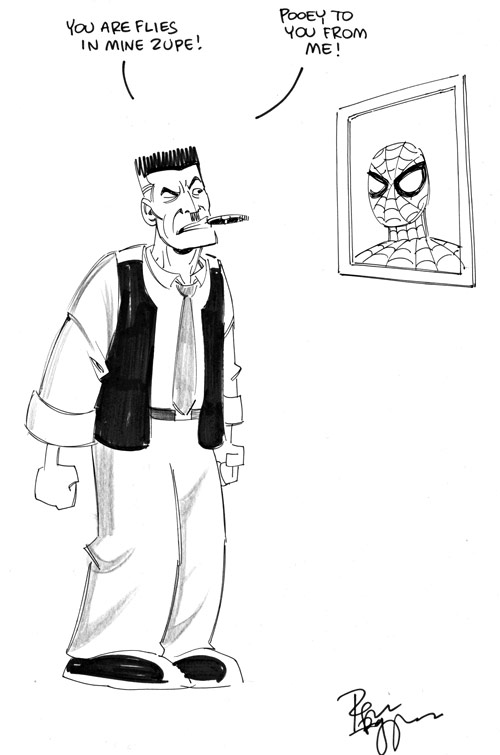 J Jonah Jameson by Roger Langridge