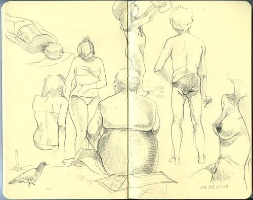 Gran Canaria, travel sketchbook