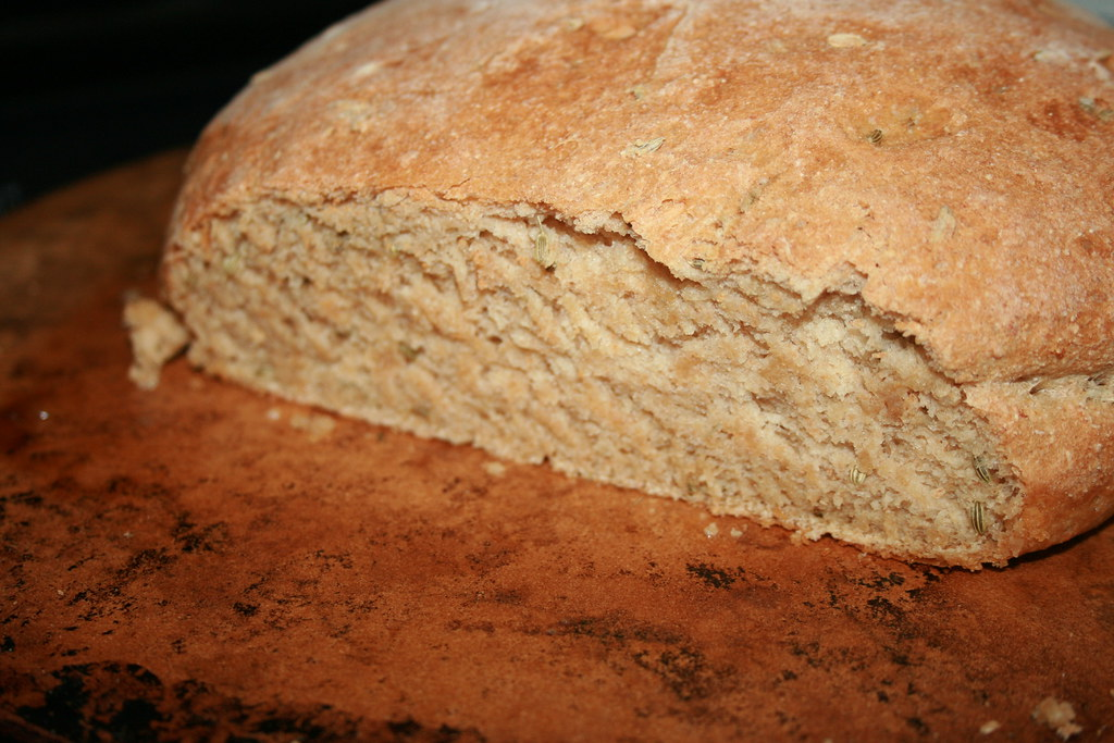 Sliced Fennel Bread