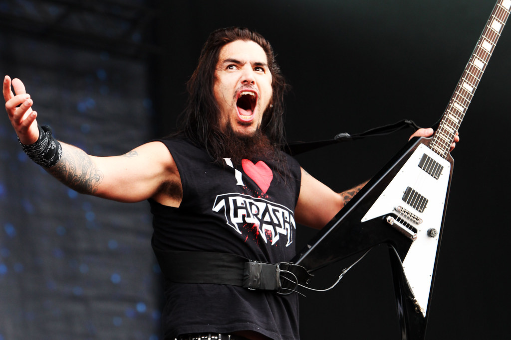 Rob Flynn of Machine Head