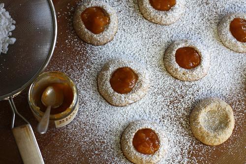 Honey Roasted Peanut Thumbprint Cookies