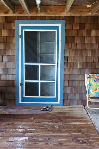 obx: blue door