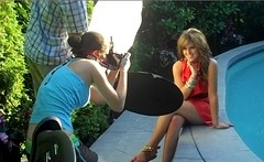 Behind the scenes: AJ shoot (Lisa Bettany {Mostly Lisa}) Tags: lisa behindthescenes alienbees strobist lisabettany