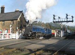 60007 leaves Grosmont (nymr.co.uk) Tags: steamtrain grosmont nymr