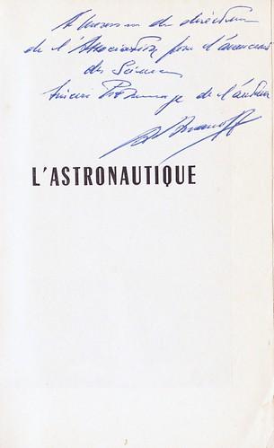 ALEXANDRE ANANOFF/ L'ASTRONAUTIQUE