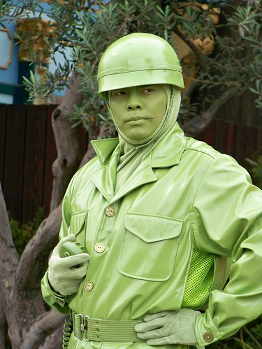 Toy Story Green Army Men show