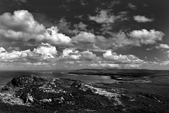 Looking North from Sanaig Rocks (Odd Wellies) Tags: blackandwhite clouds island innerhebrides islay hdr sanaigmore 3star nr2271