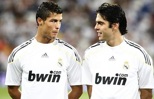 Cristiano Ronaldo y Kaka