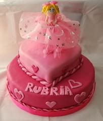 Tutú (Mariana Pugliese) Tags: cake fiesta chica pastel rosa infantil nena princesa cumpleaños fucsia torta hada femenino festejo rubira 241543903 marianapugliese