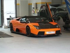 Lamborghini Murcielago Roadster (Damors) Tags: orange black berlin car russia corse moscow basement royal exotic tc tuning lamborghini moskau schwarz morten kk dealer roadster murcielago concepts miura werkstatt russland exoticsonroad schwend