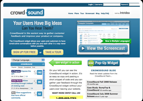 CrowdSound - Effective Customer Feedback Widget - Listen To Your Customers