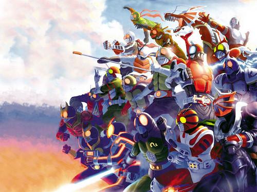 All Kamen Riders