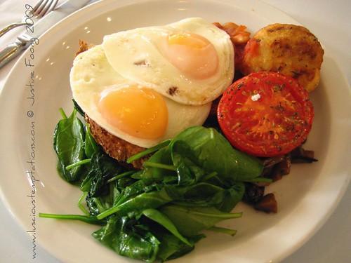Nia Veggie Breakfast - Nia, Brighton