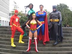 Big 5 (Bryanakin) Tags: costumes atlanta woman wonder dc dragon cosplay superman batman supergirl 2009 con dragoncon