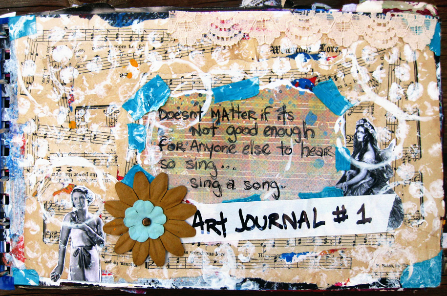 Art Journal #1 Cover