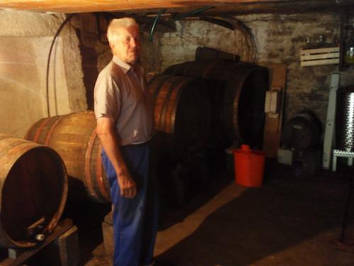 Tone's wine cellar