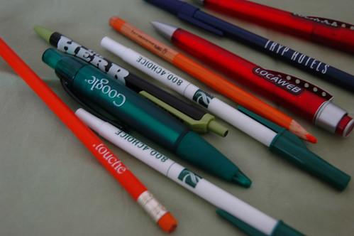 canetas brindes