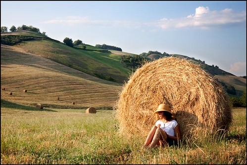 la ragazza di campagna