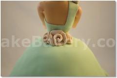 barbie_birthday_chanel_Flowers_2 (KakeBakery2009) Tags: flowers cake barbie chanel kakebakery