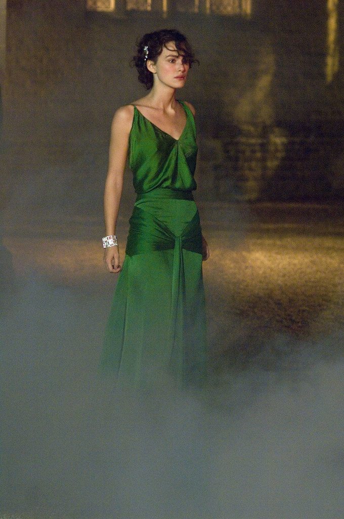 """atonement and the great gatsby 'the great gatsby' (2013)  people went most crazy for the green dress from ' atonement,' """" says kevin jones, curator at the fashion institute of."""