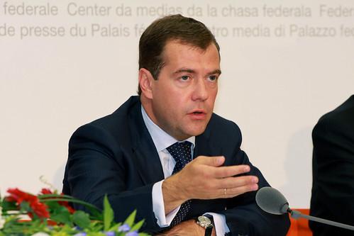 Staatsbesuch Dmitri Medwedew - 62