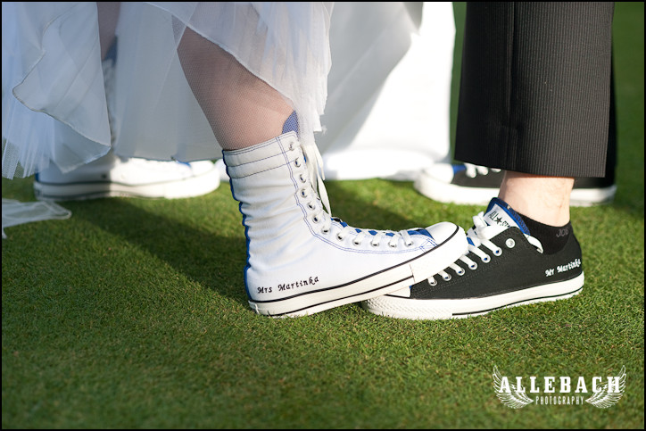 wedding chucks