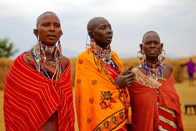Maasai women