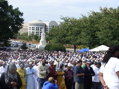 Muslim men at Islam on Capitol Hill