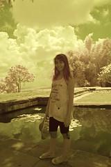 Usa At Phanom Rung With Pond And Clouds (aeschylus18917) Tags: red portrait sky woman usa tree cute girl beautiful smile architecture clouds reflections pose landscape ir thailand pond model nikon ruins scenery shrine pretty khmer d70 nikond70 surreal thai infrared lilypads nikkor hindu infra 1870mm buriram phanomrung f3545g isan 1870 赤外線 ราชอาณาจักรไทย 1870f3545g prakhonchai prasathinphanomrung บุรีรัมย์ อีสาน ダニエル ratchaanachakthai ปราสาทหินเมืองต่ำ nikkor1870f3545g prasathinmueangtam danielruyle aeschylus18917 danruyle druyle ปราสาทหินพนมรุ้ง ルール ダニエルルール ประโคนชัย 1870mmf3545gifdx prasathinmuangtum stonecastleofthehumblecity nikkor1870f3545gdx