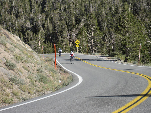 Last looong steep grade to the Sonora Pass