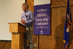 Rep. Thisssen speaks to the audience (ARRM) Tags: paul rep thissen