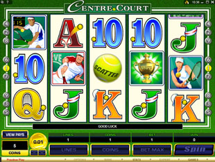 Centre Court slot game online review