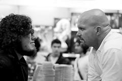 Stone Cold Steve Austin - FP signing (Derek Bremner) Tags: uk london wrestling stonecold signing wwe wwf forbiddenplanet steveaustin stonecoldsteveaustin