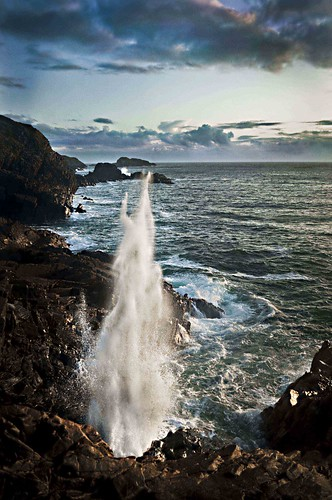 The Spouting Cave by BenFischinger.