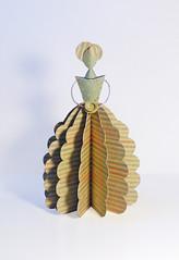 Ana's Paper Doll (Carlos N. Molina - Paper Art) Tags: paperart bride origami handmade artdolls kirigami paperdoll muñecas papercraft papercrafts manualidades papersculpture victoriandoll