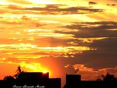 Sunset in Sinop - Brazil (Bruno Leonardo Mendes) Tags: sunset sol colors linhas clouds cores do sony laranja places cu lugares nuvens cerrado fogo mato por matogrosso prdios grosso amazonia sinop estilos juruena flickrbr brunomendes
