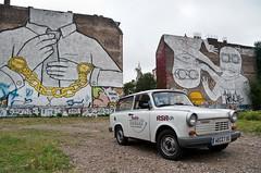 Radio Trabant in Kreuzberg (GregoireC - www.gregoirec.com) Tags: streetart berlin radio kreuzberg pentax blu 11 trabant k7 sachsenring rsr trabant11 smcpda1650mmf28edalifsdm